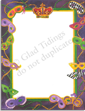 Product Image For Mardi Gras Border Paper